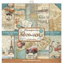 Stamperia - Around the World 8x8 Inch Paper Pack